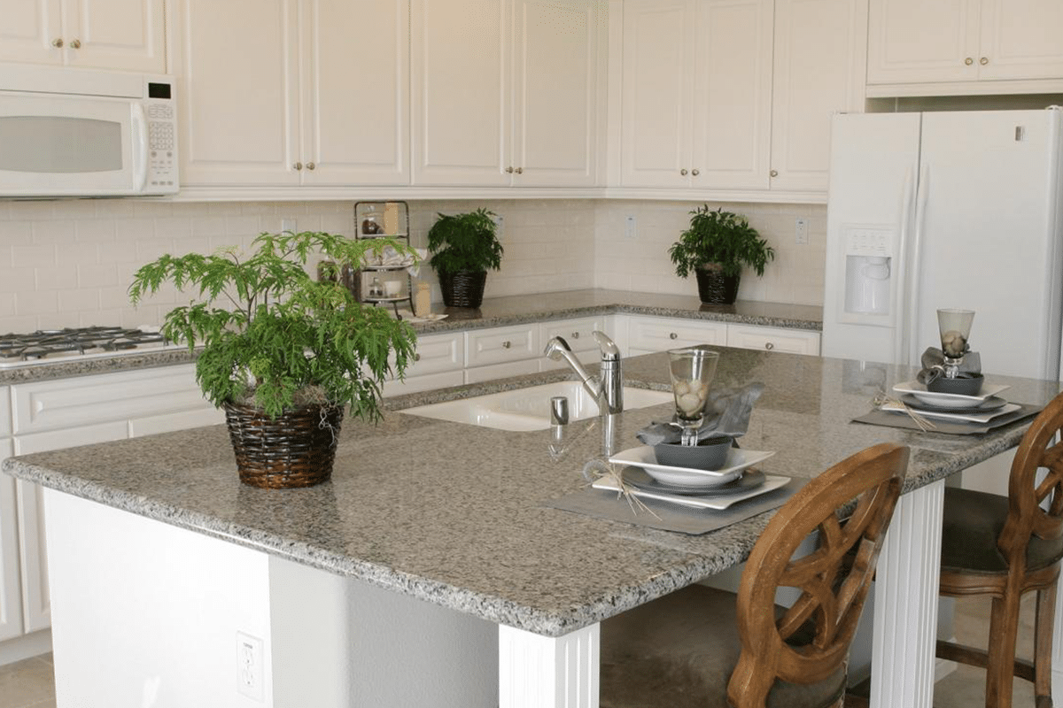 MultiStone Kitchen Countertops Neutral Granite Countertop Trends