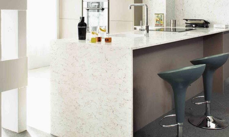 Trends In Quartz Countertops Waterfall Legs Quartz 1 Multistone