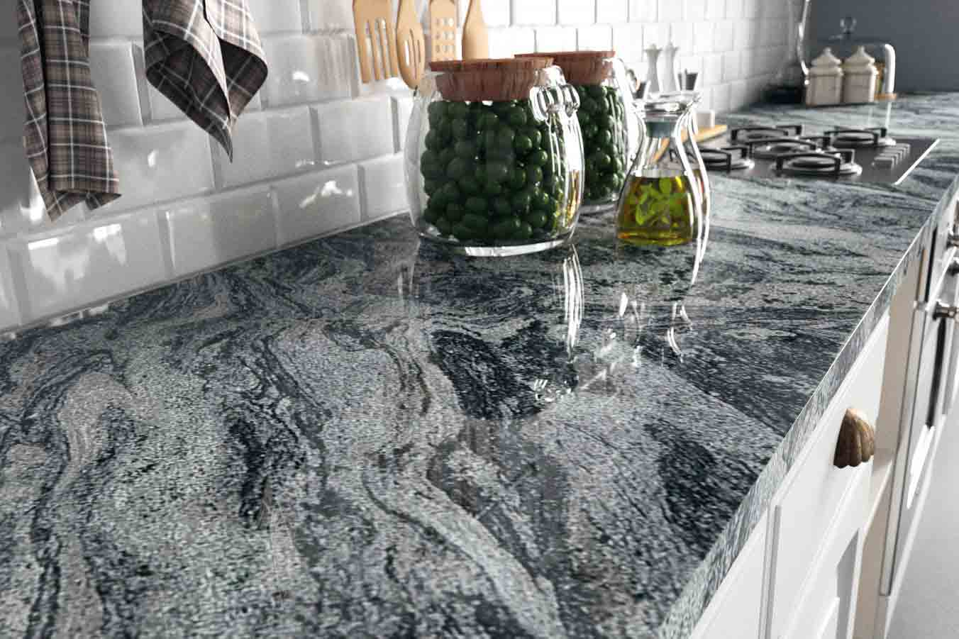 RS11260 Cs Verde Aquarius Granite Countertop