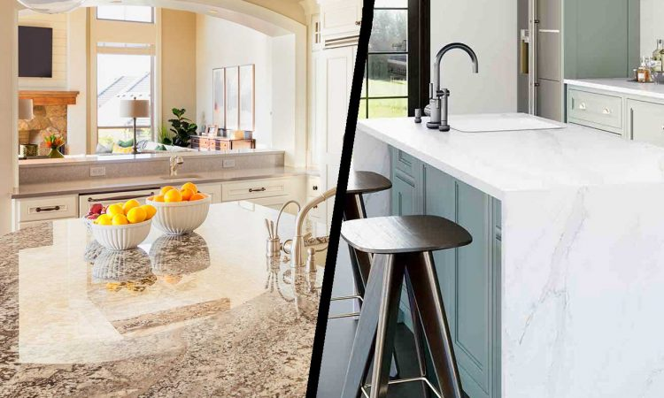 Granite Vs. Quartz Countertops